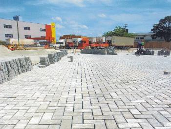 mão de obra para pavimentação com blocos - ECOPISOS PAVIMENTA��O ECOL�GICA Mão de Obra para pavimentação com  Pisos Intertravados