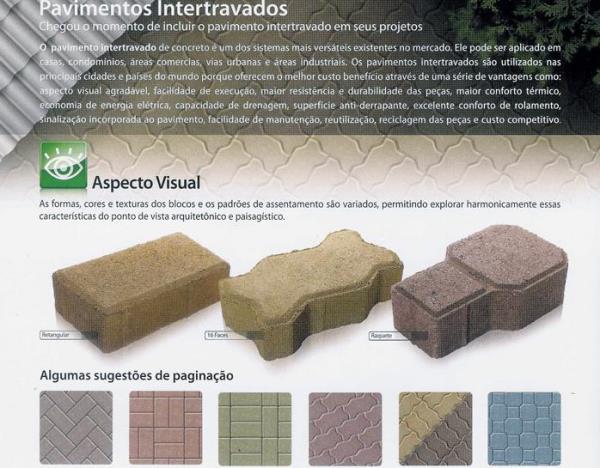 PISOS INTERTRAVADOS vários modelos e cores http://www.ecopisos.com.br/42.html